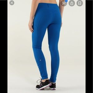 Lululemon striped speed tights